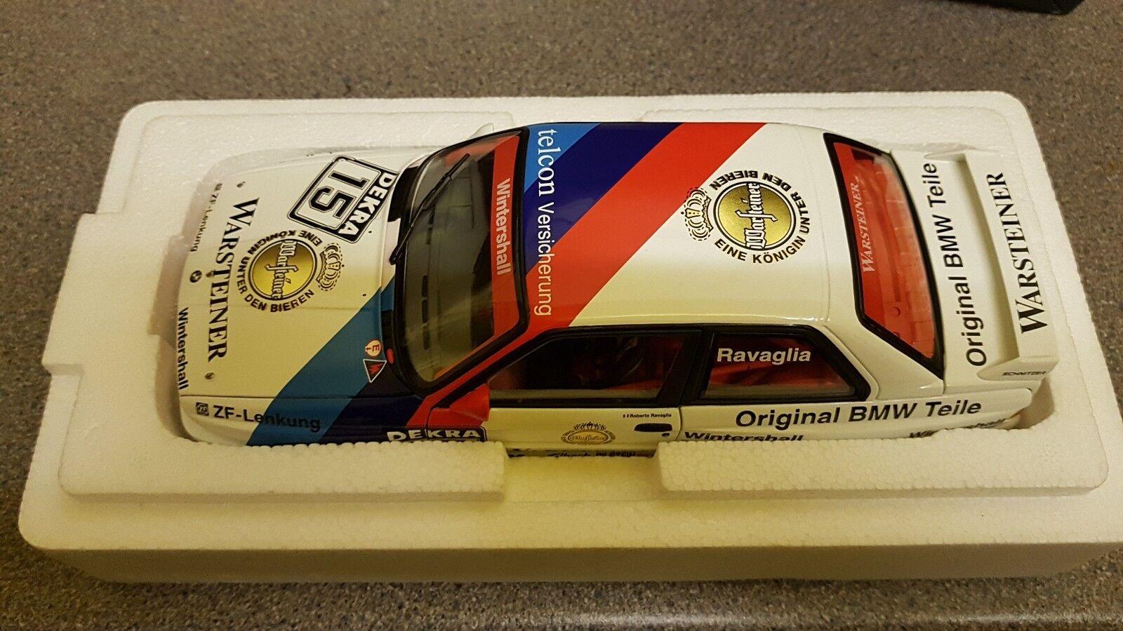 Minchamps BMW M3 E30 Warsteiner N15 Champion DTM Ravaglia