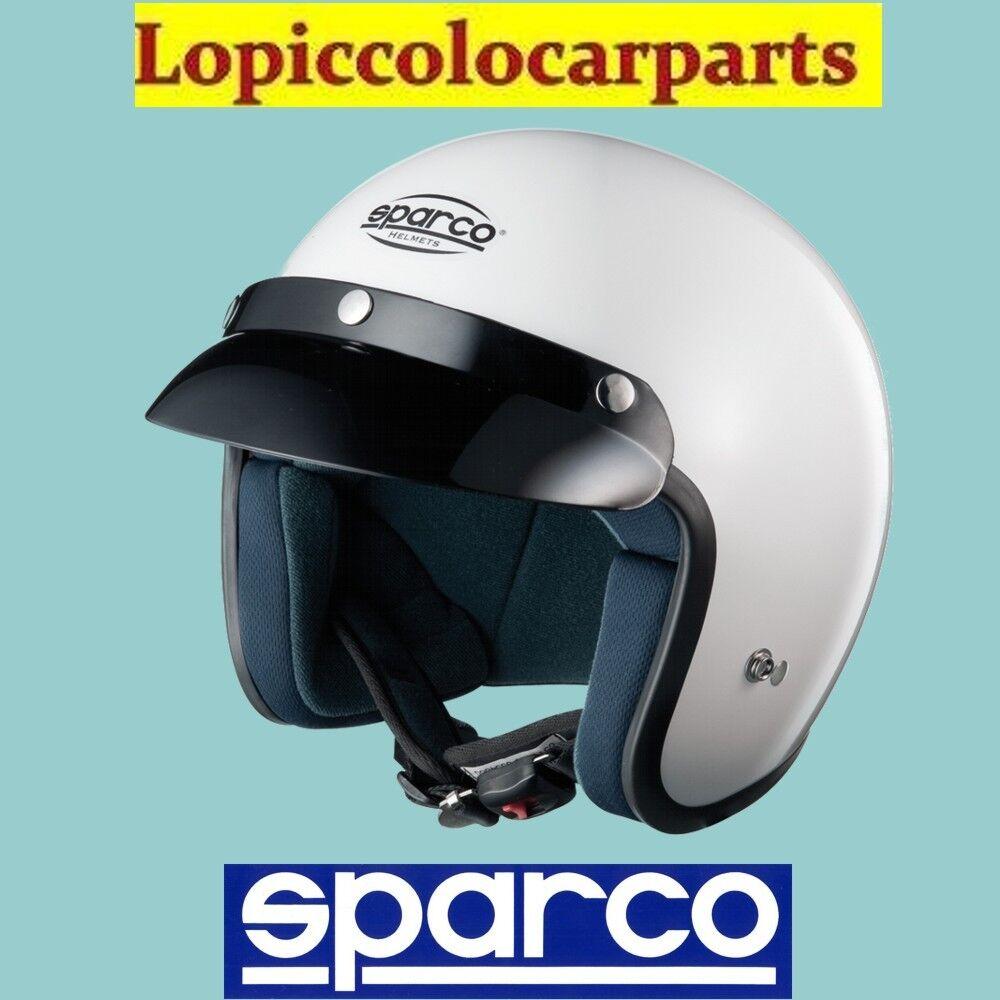 CASCO JET APERTO AUTO/ KART SPARCO PISTA NO FIA CLUB J-1 003317 MISURA XS ( 54)