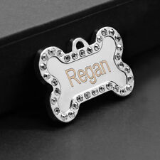 New Custom Dog Tags Personalized Cat Name ID Tags for Pets FREE Engraving Gift