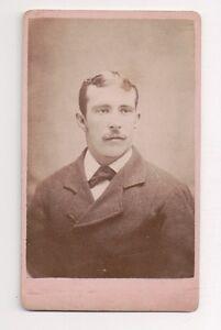 Vintage-CDV-Good-Looking-Young-Man-H-Rosenstock-Photo-Bloomsburg-Pa