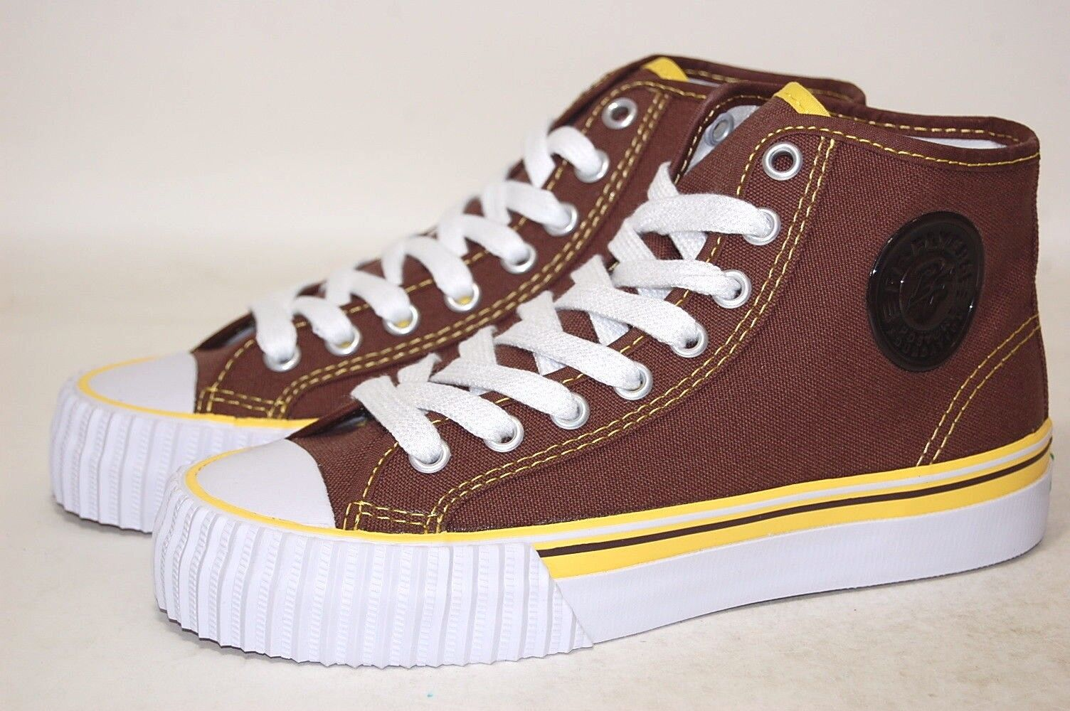 PF Flyers Center Hi Reiss MC1001I1 Brown Canvas Men shoes