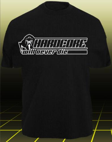 T-Shirt Gabber Wizzard HARDCORE WIZARD CORE 6 TECHNO GABBA SPEEDCORE INDUSTRIAL