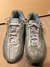 NIKE WOMEN'S INITIATOR RUNNING SHOES  SILVER BLUE SIZE 7.5