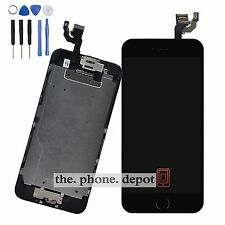Black LCD Display Touch Screen Digitizer Camera Home Button For iPhone 6 4.7''
