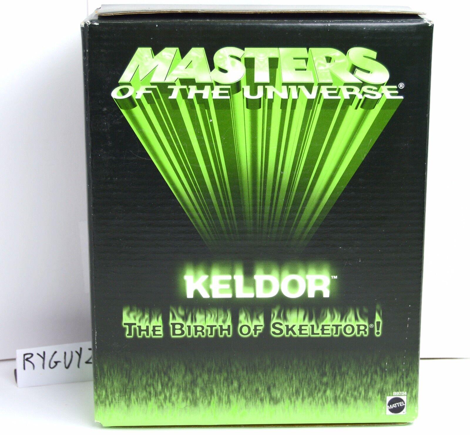 MOTU, Keldor, He-Man 200x, Exclusive figure 2003, MOC, MISB, sealed box