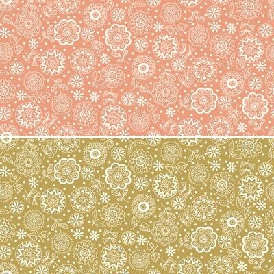 Marble effect Yellow 100/% cotton fabric Size 55 cm x 50 cm larger available