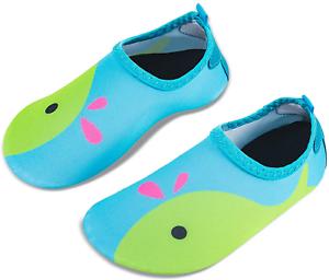 IceUnicorn Water Socks for Kids Boys Girls Non Slip Aqua Socks Beach Swim Socks