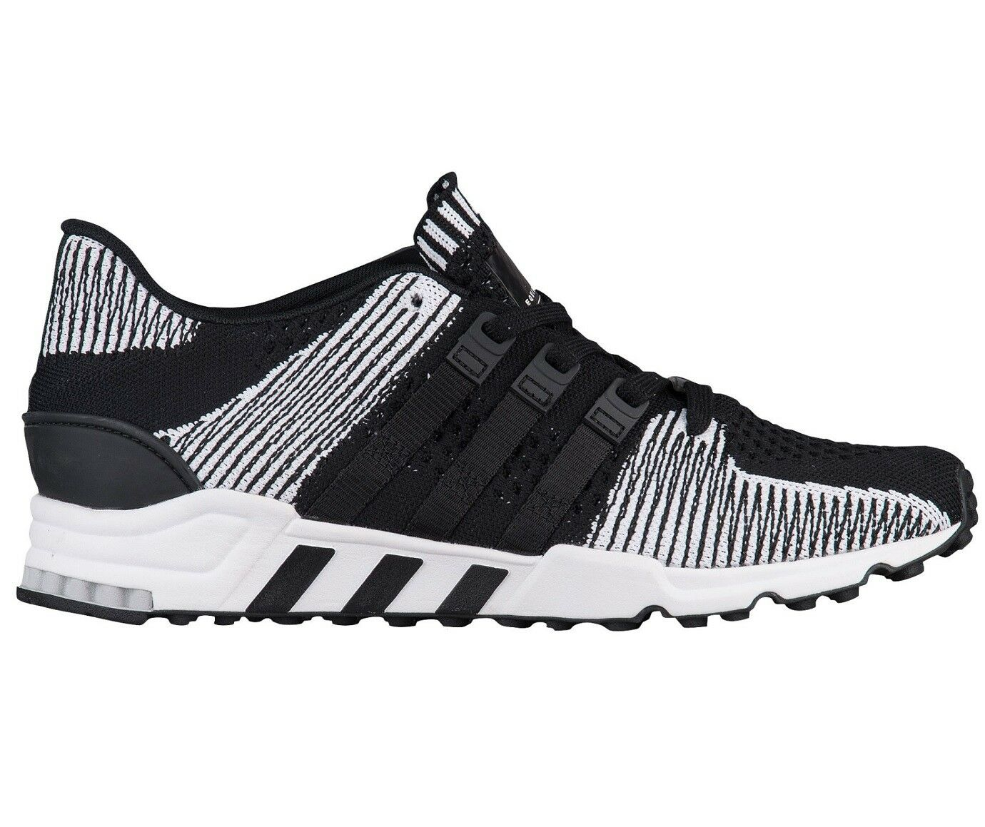 Adidas EQT Support RF Primeknit Mens BY9689 Black White Running Shoes Size 12