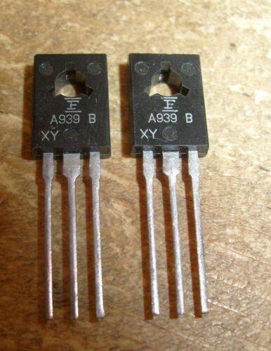 Ships Fast from USA ! Pair of Transistor 2SA939