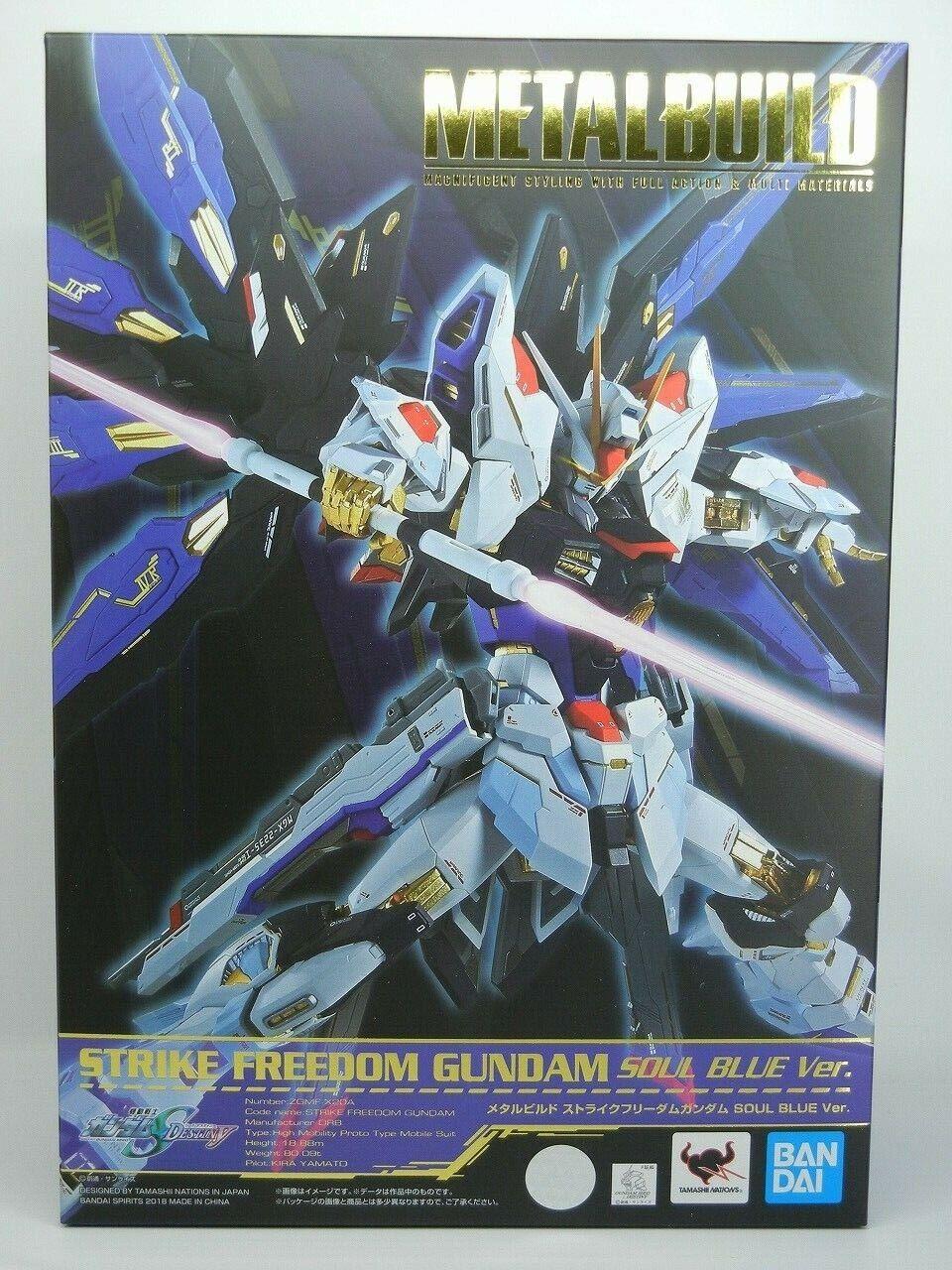Tamashii Nation 2018 acumulación de metal huelga libertad Gundam Alma Azul Ver. BANDAI