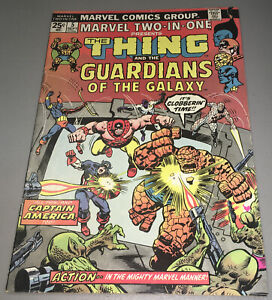 MARVEL TWO-IN-ONE #5 2ND APP Appearance GUARDIANS OF THE GALAXY MVS INTACT