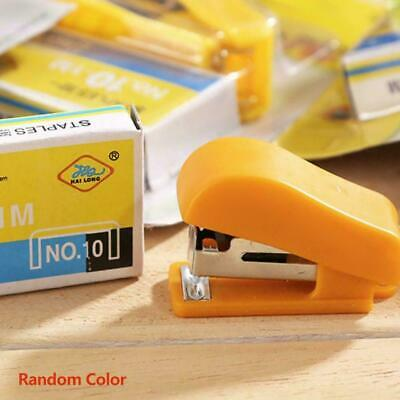 Super Mini Small Stapler Useful Mini Stapler Staples Supply L6X7 Binding Of E4D4