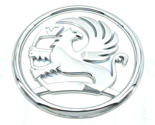 Véritable badge coffre Griffin Vauxhall Opel Corsa D Astra H /& Sport Hatch VXR 112mm