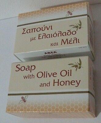 Honey & Olive Oil Soap 2 x 125gr ANTIOXIDANT TRADITIONAL GREEK
