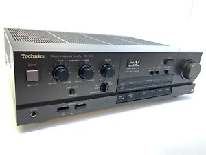 TECHNICS-SU-V65A-Stereo-Integrated-Amplifier-170-Watts-RMS-Vintage-1988-LIKE-NEW