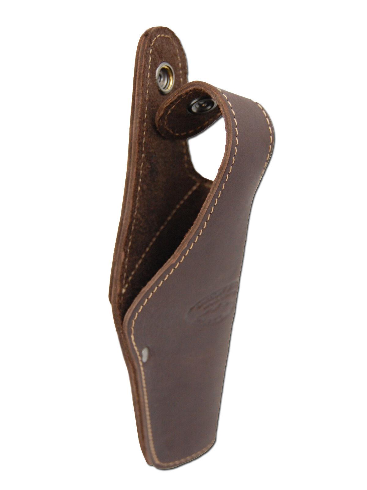 New Barsony Braun Leder Belt OWB Holster for Kimber Kimber for Full Größe 9mm 40 45 9170fc