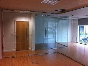 Image is loading Glass-Partitions-and-Glass-Partition-Doors-Full-Kit- & Glass Partitions and Glass Partition Doors - Full Kit - everything ...