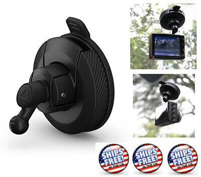 55 and 65W Plus 010-12530-05 Garmin Mini Suction Cup Mount for Speak Dash Cam 45