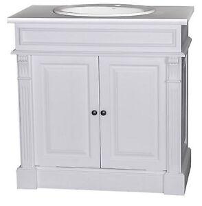 waschtisch waschbeckenunterschrank badezimmer m bel landhaus massiv shabby antik ebay. Black Bedroom Furniture Sets. Home Design Ideas