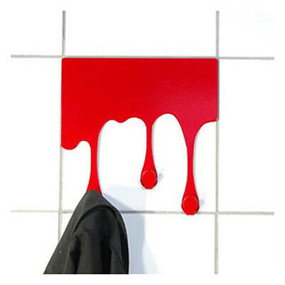 New Creative Art Drop Shape Metal paint Hook Hanger