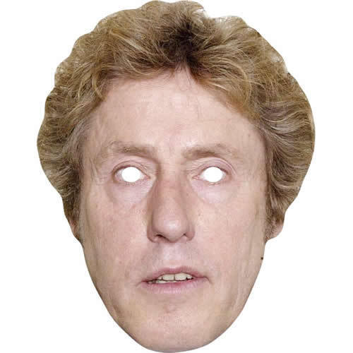 All; Our Masks Are Pre-Cut Roger Daltrey The Who Celebrity Singer Card Mask