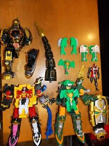 Power Rangers Lot Legacy Dragonzord, Ninja Steel Zords