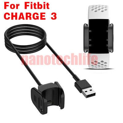 Chargeur USB Support Câble Pour Fitbit Charge 3 édition spéciale activité Tracker