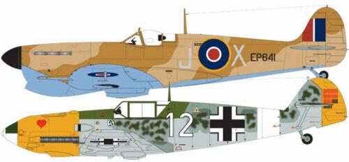 AIRFIX A50160 Spitfire MkVb Me Bf109e Dogfight Doubles Gift Set 1:48 Model Kit
