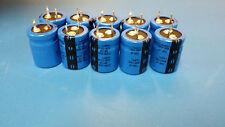10pc Aluminum Electrolytic Capacitors Snap In 100uF400V20% CORNELL 381LR101M400H