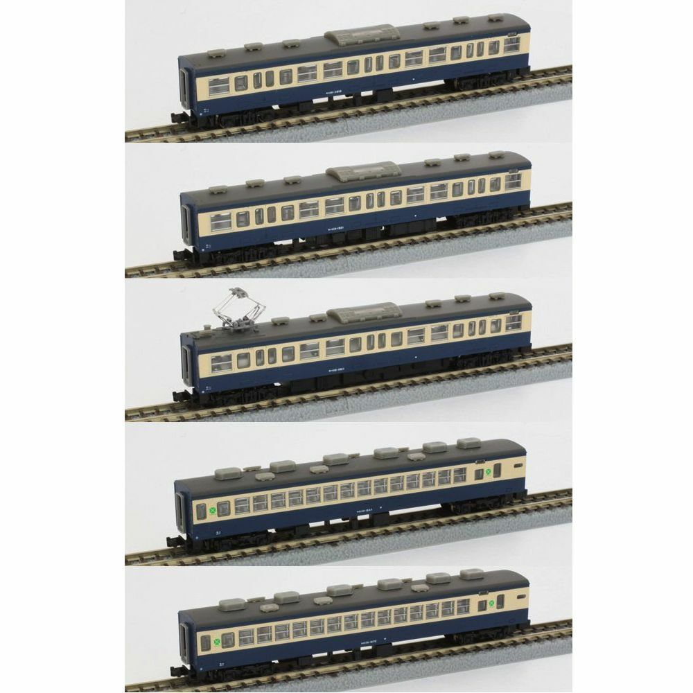 Rokuhan T003-2 Series 113 1500 Yokosuka 5 Cars Add-On Set - Z