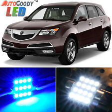 20 x Premium Blue LED Lights Interior Package Kit for Acura MDX 2007-2013 + Tool