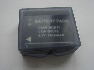 Batterie-CGA-S007-CGA-S007A-CGA-S007A-1B-CGA-S007E-CGA-S007GK-pour-Panasonic
