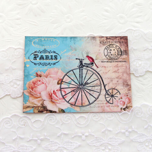 NEW Bicycle Bird French Tour de France Postcard Note Cards  Set of 6