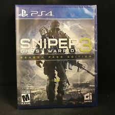 Sniper: Ghost Warrior 3 Season Pass Edition (Sony PlayStation 4, 2017) BRAND NEW