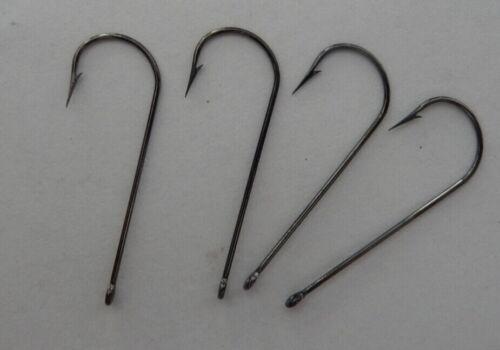 100 Crappie Aberdeen Hook   size 2  Nickel Black