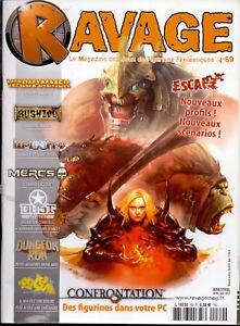 Analytique Magazine Ravage N° 69 Avril Mai 2012 RéSistance Au Froissement