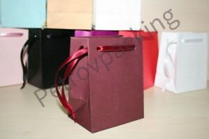 burgundy paper gift bags