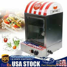 1500w Commercial Electric Hot Dog Steamer Machine Stove Sausage Warmer 30 110