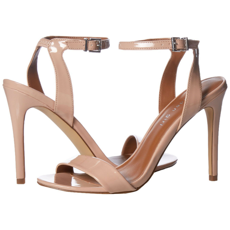 Madden Girl Women's Londonn Nude Patent High Heel Sandal shoes