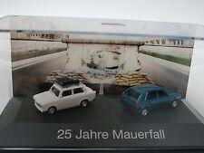 Herpa Trabant/ VW Golf 25 Jahre MAUERFALL - 101943