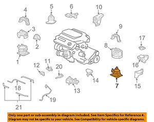 Acura HONDA OEM 04-05 TL-Engine Motor Mount Torque Strut 50810SEPA02 | eBay | Acura Tl 3 2 Engine Diagram |  | eBay