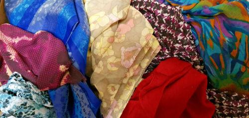 Farben Neu 10x Halstücher Schals Kopftücher Seidentücher Tücher versch
