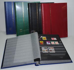 PROMO-Album-timbres-Classeur-LEUCHTTURM-64-Pages-noires-5000-Timbres-ref-BASIC