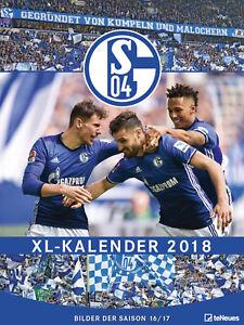 Schalke-04-XL-Kalender-2018-Poster-Kalender-48x64-cm-NEU