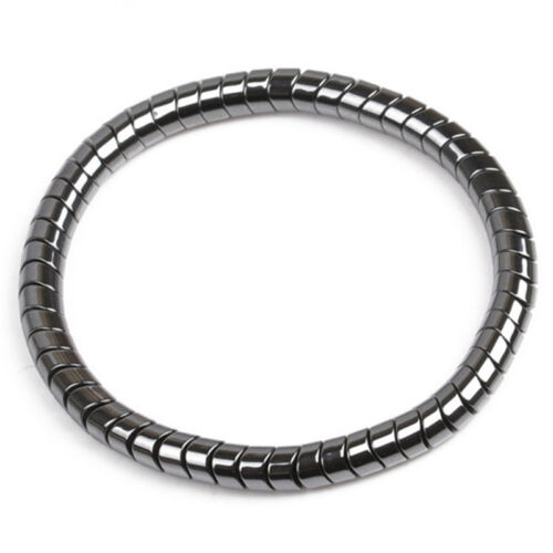 Magnetic Healthcare Bracelet Weight Loss Healthy Therapy Hematite Stone Beads PB