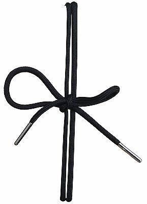 Acclaim Schnürsenkel rund Schuhe Stiefel Sportschuhe 5 mm starke Metall Spitzen