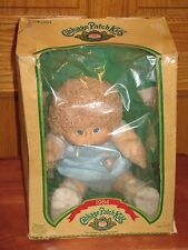 1984 CABBAGE PATCH KIDS DOLL Green Signed WORN BOX Birth Certificate HONG KONG