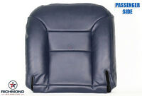 2000 Chevy Silverado Classic Crew -passenger Side Bottom Leather Seat Cover Blue