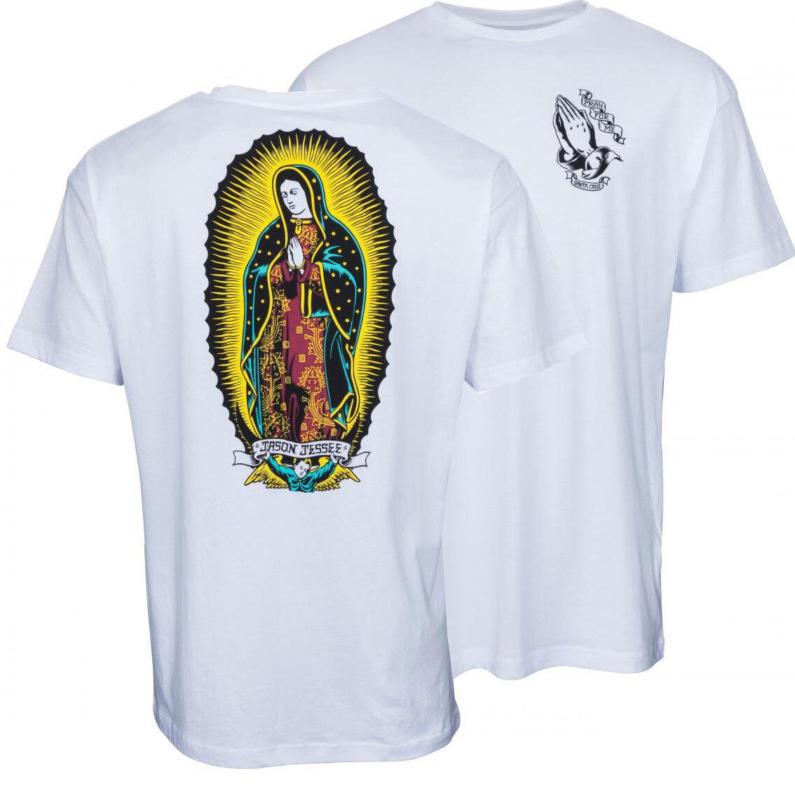 Santa Cruz Jason Jessee Guadalupe- Skateboard T-Shirt - '80s Klassisch Klassisch '80s f704f9