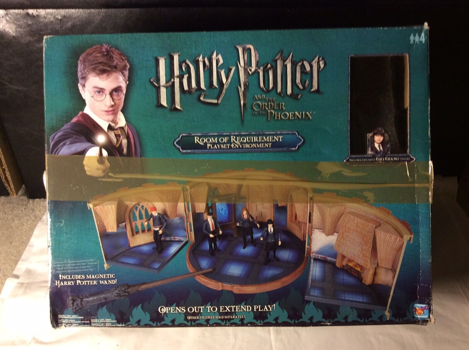 Bundle Harry Potter Room of RequireSiet figure toy playset Cho Playset